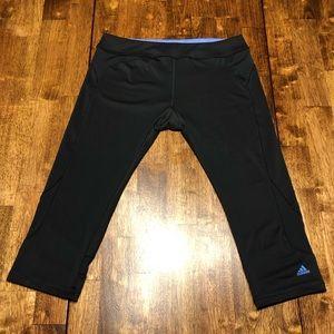 Hot!! Adidas Yoga Capris size L